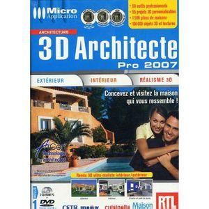 Architecte 3d micro application prix pas cher cdiscount for 3d architecte pro