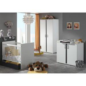 Lit bebe avec commode a langer achat vente lit bebe - Commode et table a langer bebe ...