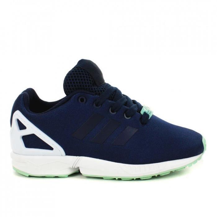 Adidas Zx Flux Bleu Marine Pas Cher