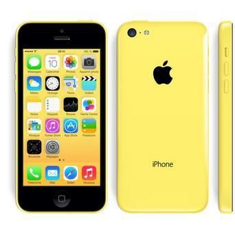iphone 5c jaune 32go occasion comme neuf tout operateur achat smartphone pas cher avis et. Black Bedroom Furniture Sets. Home Design Ideas