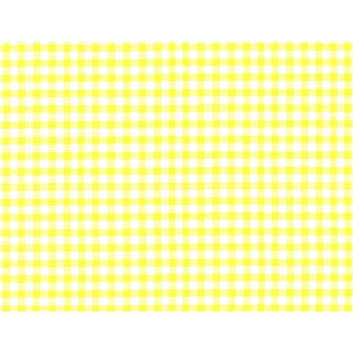 Drap housse petit matelas 40 x 80 cm coton vichy jaune for Lavage housse matelas