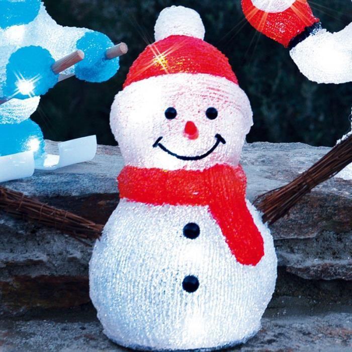 bonhomme de neige ventail 3d achat vente guirlande d 39 exterieure bonhomme de neige ventail. Black Bedroom Furniture Sets. Home Design Ideas