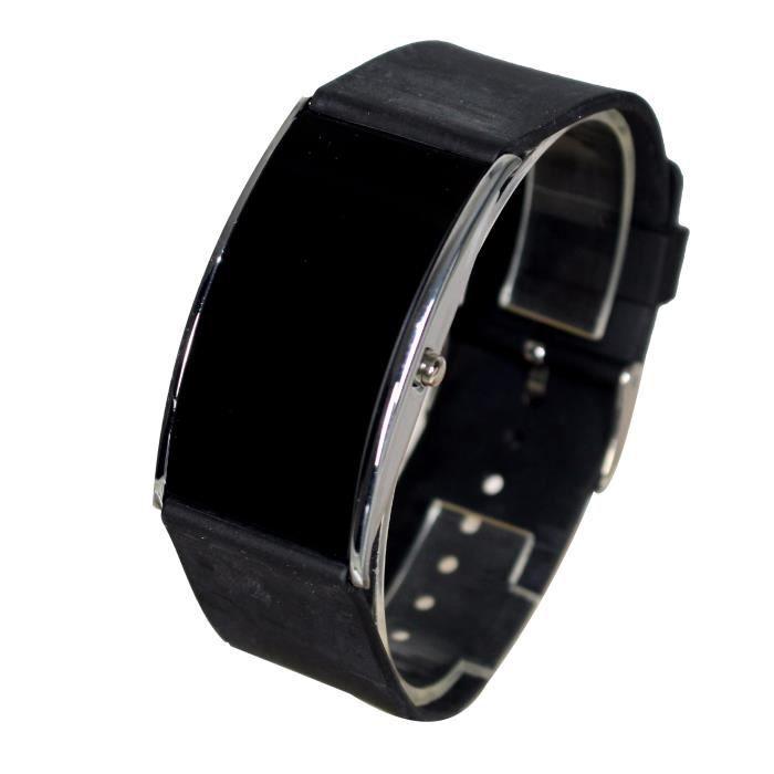 montre led watch homme femme bracelet silicone fashion et. Black Bedroom Furniture Sets. Home Design Ideas