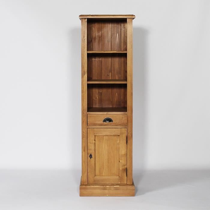 colonne en bois massif cire bois bois achat vente. Black Bedroom Furniture Sets. Home Design Ideas