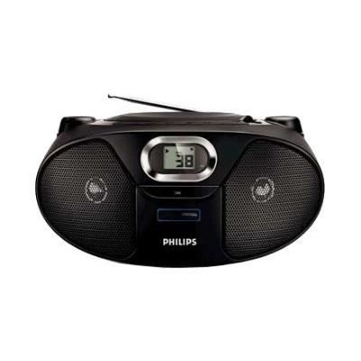 philips az 382 lecteur cd radio cd mp3 usb radio cd cassette avis et prix pas cher. Black Bedroom Furniture Sets. Home Design Ideas