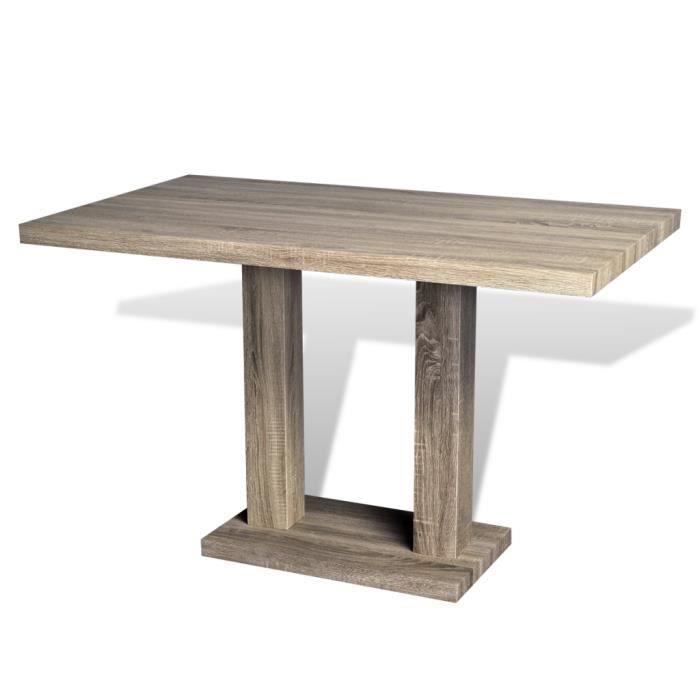 Cette table de haute qualit con ue avec des lignes - Table haute avec rangement pour cuisine ...