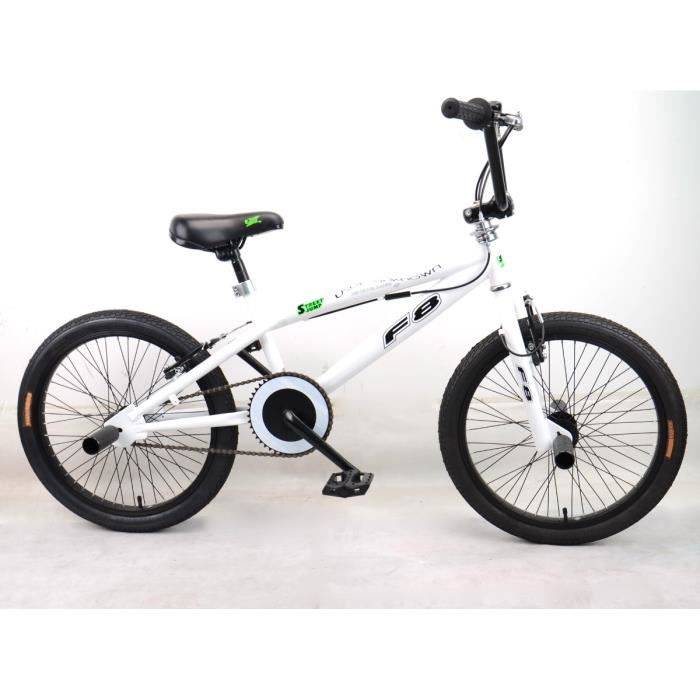 bmx freestyle 20 roues rayons 4 pegs prix pas cher soldes cdiscount. Black Bedroom Furniture Sets. Home Design Ideas