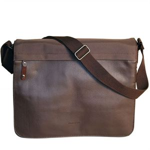 BESACE - SAC REPORTER KINSTON Besace Marron Homme