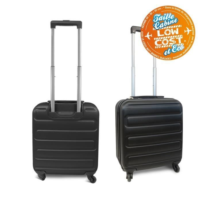 kinston valise cabine low cost rigide abs 4 roues 48 cm. Black Bedroom Furniture Sets. Home Design Ideas