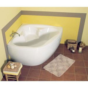 baignoire d 39 angle acrylique pestak duo 140x140x45 achat. Black Bedroom Furniture Sets. Home Design Ideas