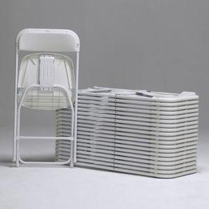 lot de 6 chaises pliantes achat vente lot de 6 chaises pliantes pas cher soldes cdiscount. Black Bedroom Furniture Sets. Home Design Ideas