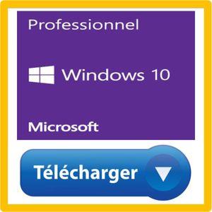 SYSTÊME D'EXPLOITATION Windows 10 fr en telechargement