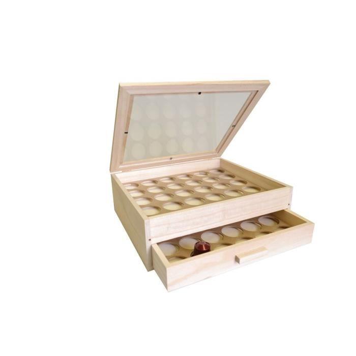 Bo te d corer artemio pour capsules caf achat - Decorer une boite en bois ...