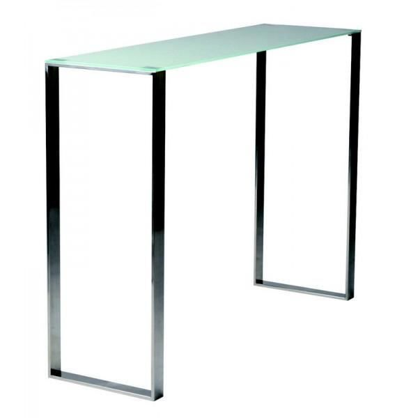 Console moderne en verre meuble house achat vente - Meuble console moderne ...