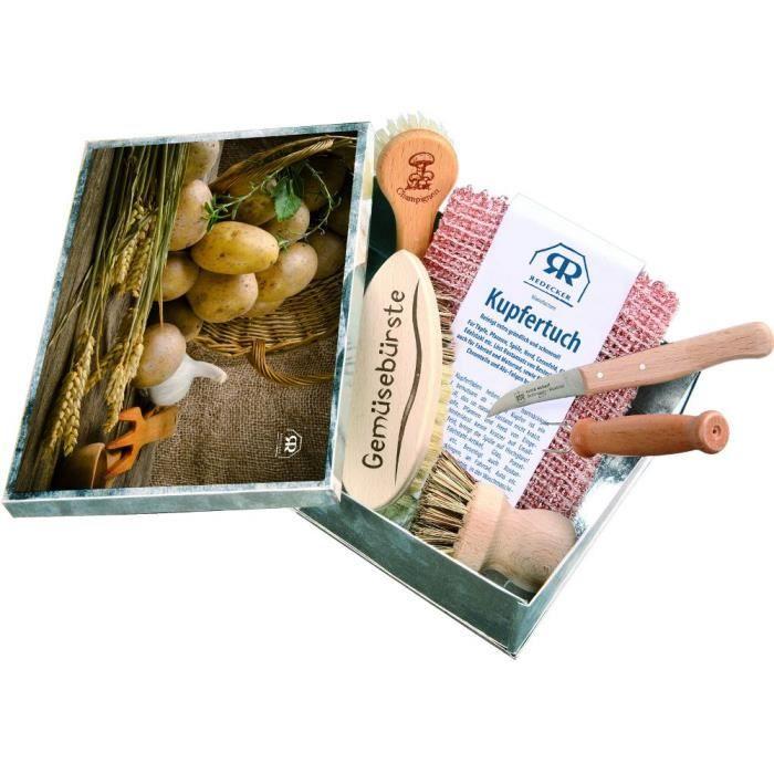 Coffret garni 5 accessoires l gumes 22 5x16 5 achat vente kit de cuisine cr ative - Coffret cuisine creative ...