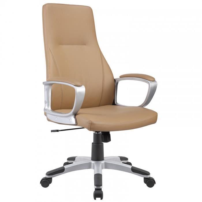 My sit chaise siege de bureau bahamas en creme fauteuil - Fauteuil de bureau confort ...