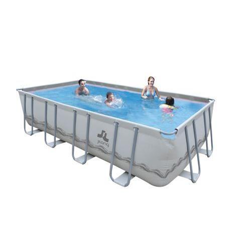 Piscine rectangulaire familiale mistal 549x305x122 cm for Achat piscine rectangulaire