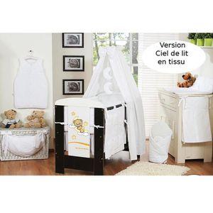 rideaux ciel de lit chambre b b achat vente rideaux. Black Bedroom Furniture Sets. Home Design Ideas