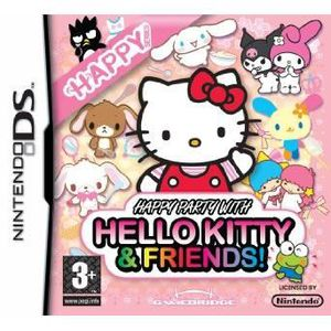 JEU DS - DSI Happy Party with Hello Kitty & Friends (Nintendo D