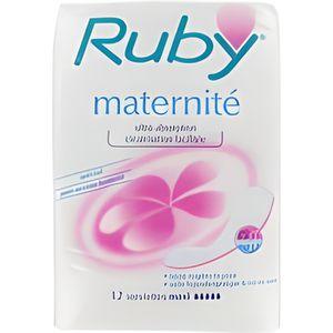 SERVIETTE HYGIÉNIQUE Ruby Serviettes Maternité