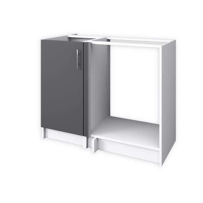 meuble cuisine bas four avec tiroir achat vente meuble. Black Bedroom Furniture Sets. Home Design Ideas