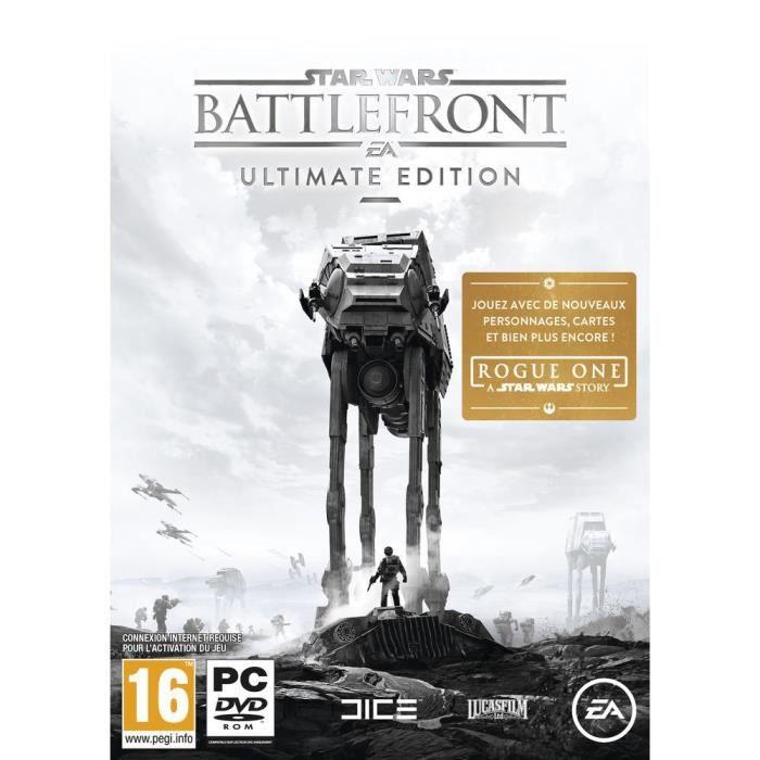 star wars battlefront edition ultimate jeu pc achat. Black Bedroom Furniture Sets. Home Design Ideas