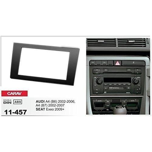 carav 11 457 fa ade d 39 autoradio double din audi a4 b6 b7 seat exeo achat vente installation. Black Bedroom Furniture Sets. Home Design Ideas