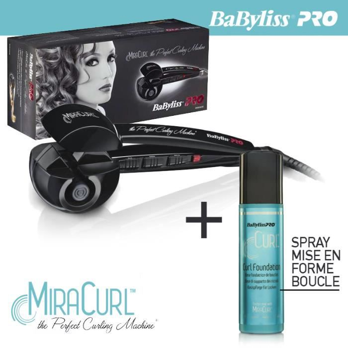babyliss pro fer boucler miracurl bab2665e the achat. Black Bedroom Furniture Sets. Home Design Ideas