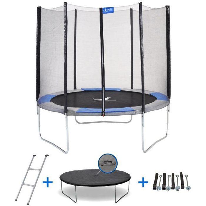 trampoline 3m achat vente jeux et jouets pas chers. Black Bedroom Furniture Sets. Home Design Ideas