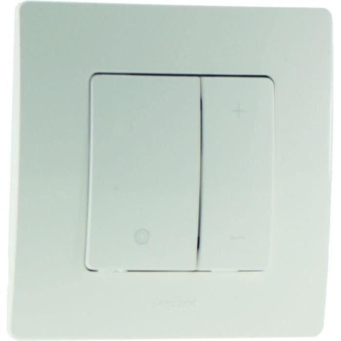 legrand interrupteur variateur 400w nilo complet achat vente variateur cdiscount. Black Bedroom Furniture Sets. Home Design Ideas
