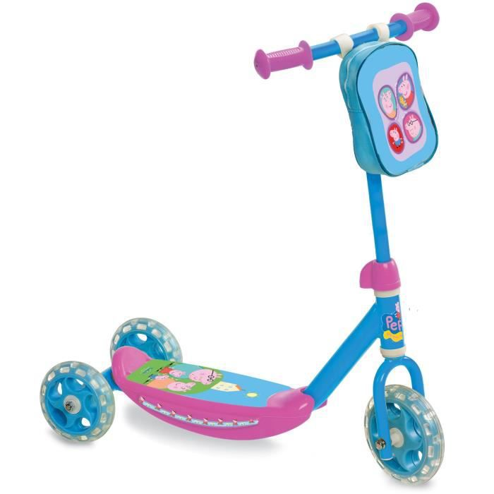 peppa pig trottinette 3 roues my first scooter achat. Black Bedroom Furniture Sets. Home Design Ideas