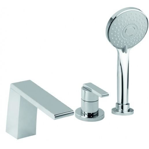 mitigeur bain douche 3 trous sur gorge ottone m achat. Black Bedroom Furniture Sets. Home Design Ideas