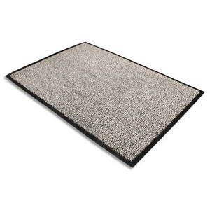tapis d 39 accueil gris 100 polypropyl ne achat vente paillasson cdiscount. Black Bedroom Furniture Sets. Home Design Ideas