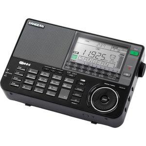 SANGEAN ATS-909 X Récepteur PLL Synthétisé noir