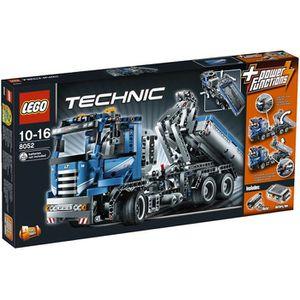 lego technic le camion conteneur motoris achat vente assemblage construction cdiscount. Black Bedroom Furniture Sets. Home Design Ideas