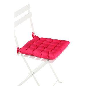Housse coussin fushia achat vente housse coussin - Coussin de chaise ...