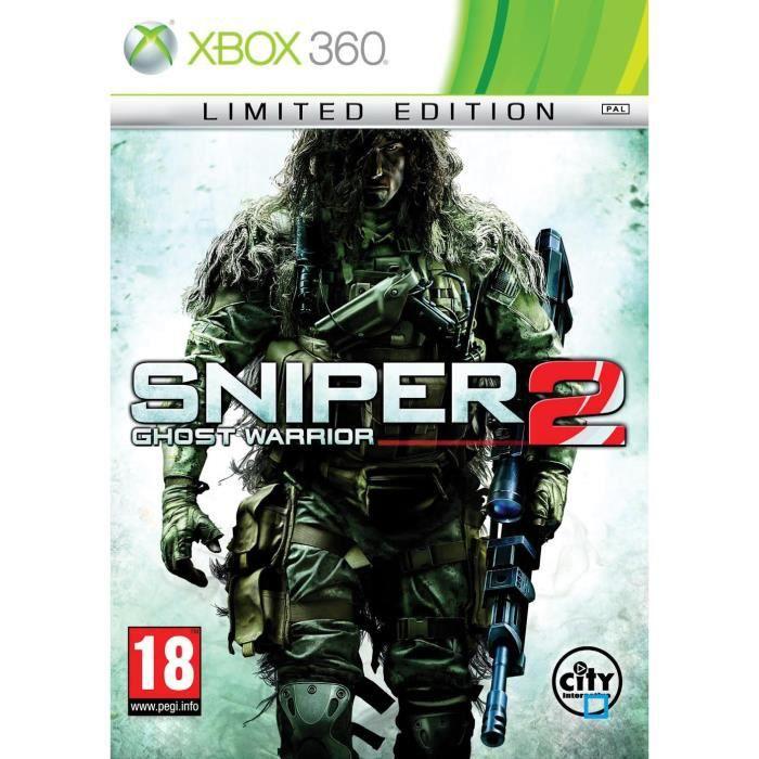JEUX XBOX 360 Sniper Ghost Warrior 2 Ed Limitée JeuXBOX 360