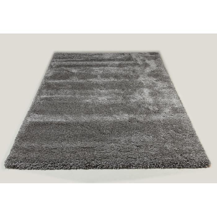 tapis de salon shaggy gris sweet 4 l 120 cm achat. Black Bedroom Furniture Sets. Home Design Ideas