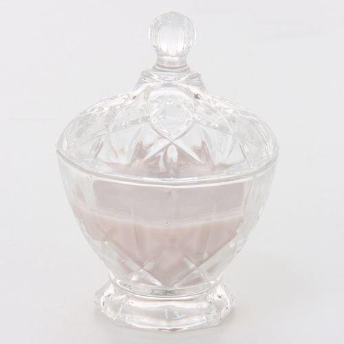BOUGIE DÉCORATIVE Bougie parfumée Bonbonnière - Musk - Taupe