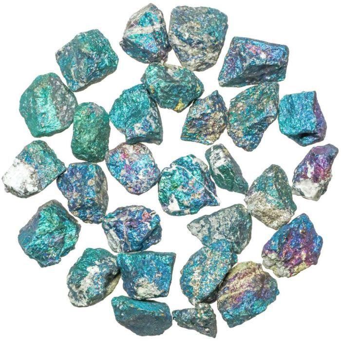 Pierres brutes chalcopyrite bleu? Achat / Vente pierre vendue