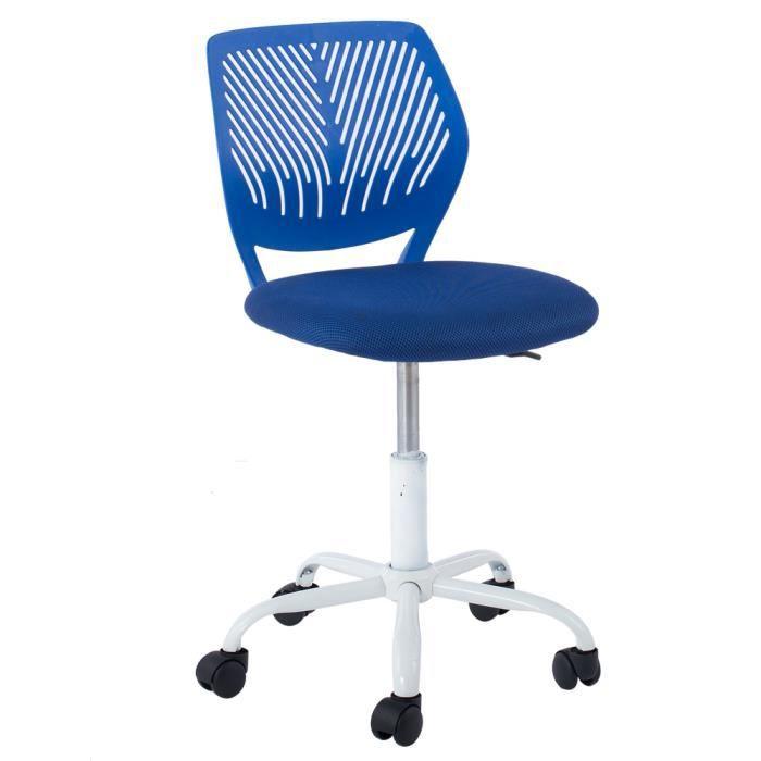 Chaise dactylo pivotante petit fauteuil si ge de bureau for Petit fauteuil de bureau