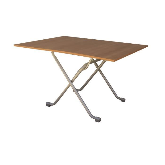 Table refermable 60x90 6090 achat vente table de for Cuisine ouverte refermable