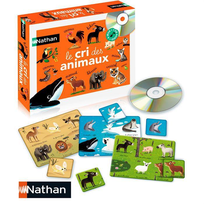 jeu des cris des animaux achat vente jeu d 39 apprentissage cdiscount. Black Bedroom Furniture Sets. Home Design Ideas