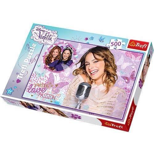 Puzzle violetta 5900511372052 achat vente puzzle - Jeux de fille de violetta ...