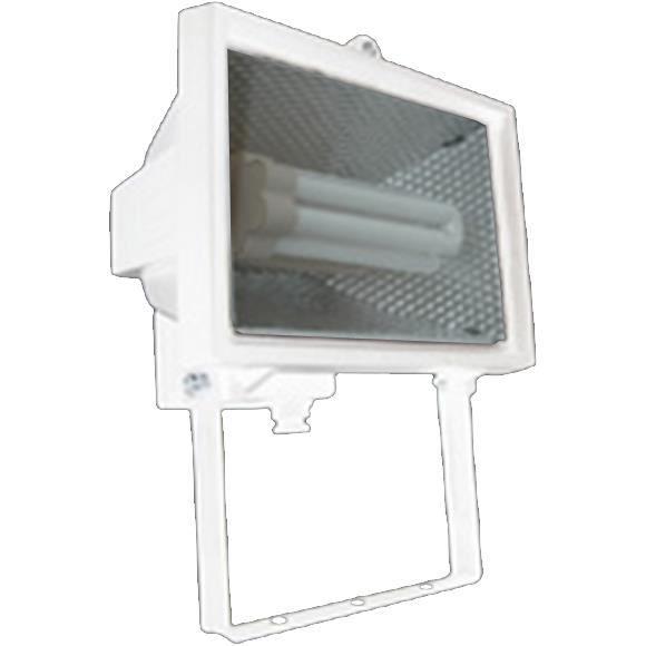 Projecteur ampoule economie d energie blanc a fixer for Ampoule exterieur