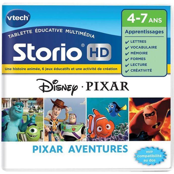 Jeu pour console de jeux storio hd pixar achat vente jeu console educative cdiscount - Histoire des consoles de jeux ...
