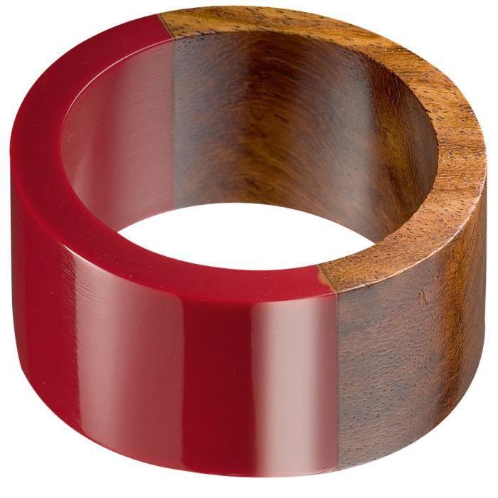 rond de serviette anno winkler rouge achat vente serviette de table cdiscount. Black Bedroom Furniture Sets. Home Design Ideas