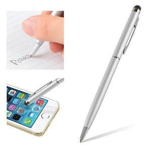 STYLET TÉLÉPHONE Stylet stylo bille 2 en 1 argenté pour Asus Padfon