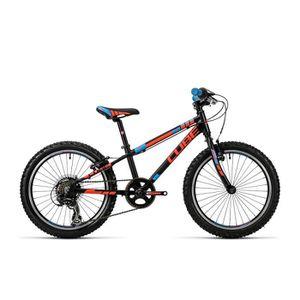 VÉLO DE VILLE - PLAGE Vélo enfant CUBE Kid 200 black'n'flashred'n'blue 2