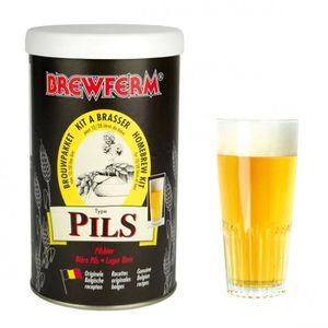 KIT DE BRASSAGE BIÈRE Préparation brassage bière blonde 20l Brewferm